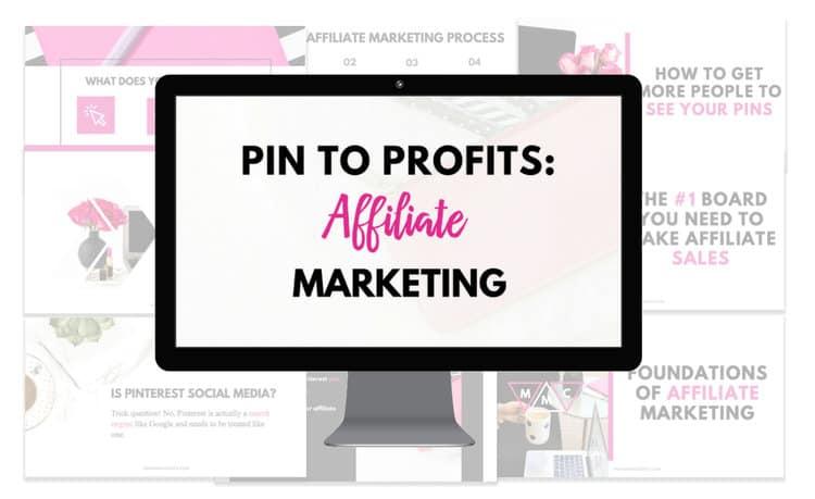 affiliate marketing on pinterest make money on Pinterest