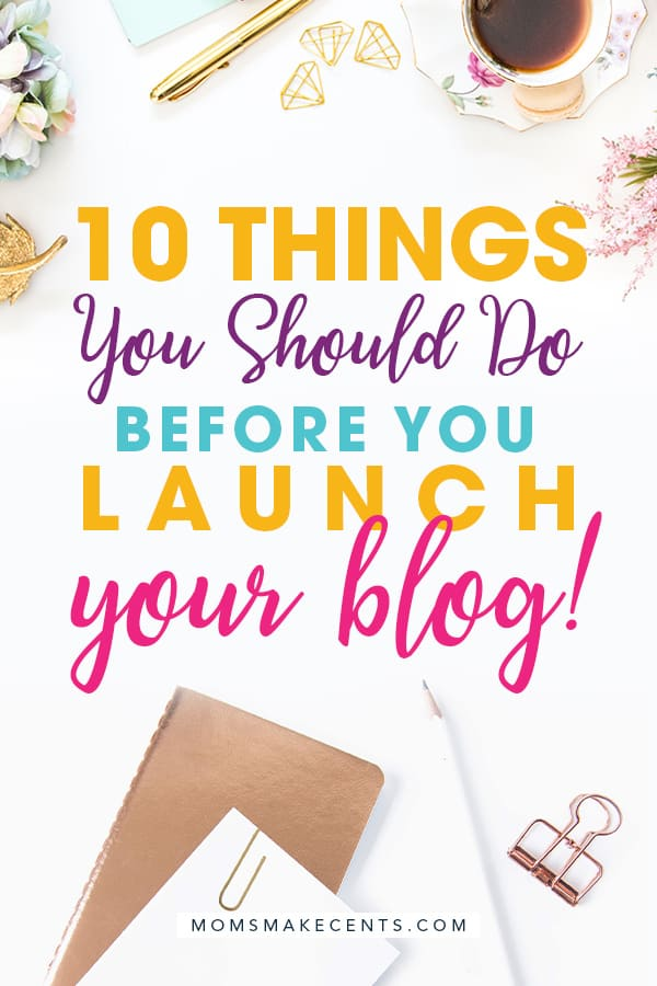 To Do Before You Launch Your Blog