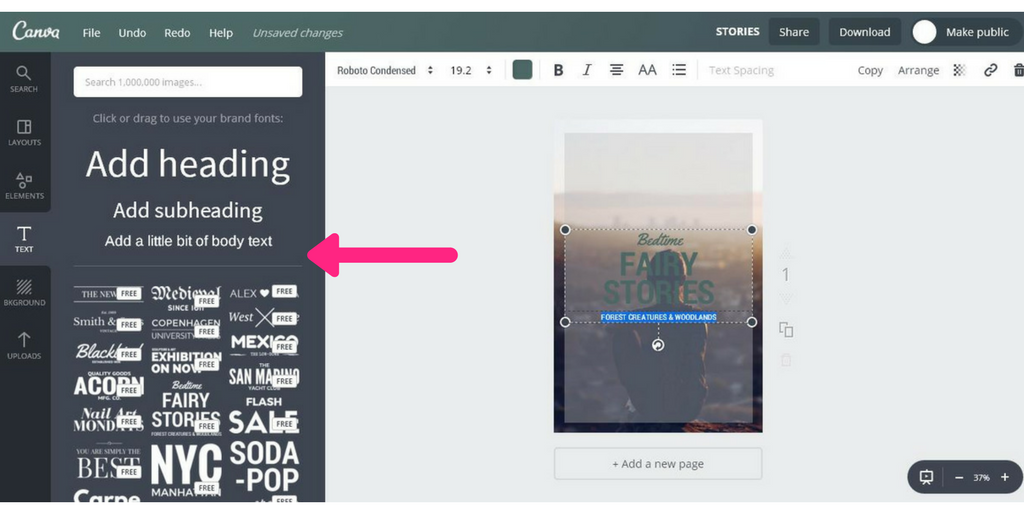 Create Pinterest Graphics With Canva