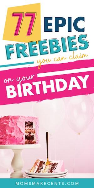 free stuff on your birthday 4