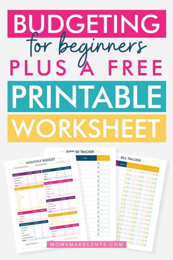 photograph relating to Budget Printables Free titled How In direction of Create A Finances + Totally free Printable Price range Template