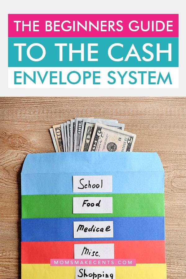 cash envelope system categories