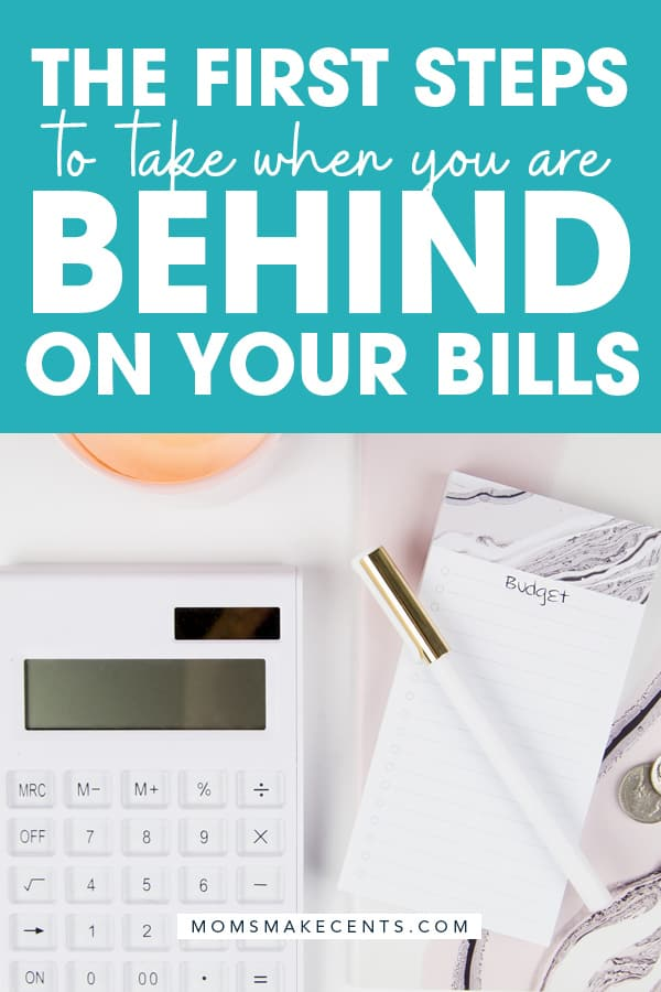 how to catch up when you are behind on bills