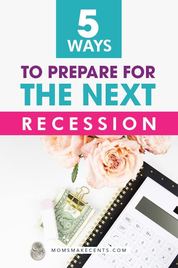 how to prepare for the next economic recession
