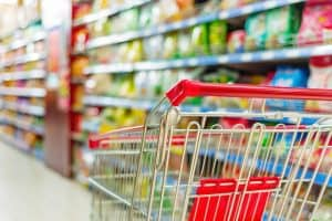 supermarket cart: things to buy in bulk to save money