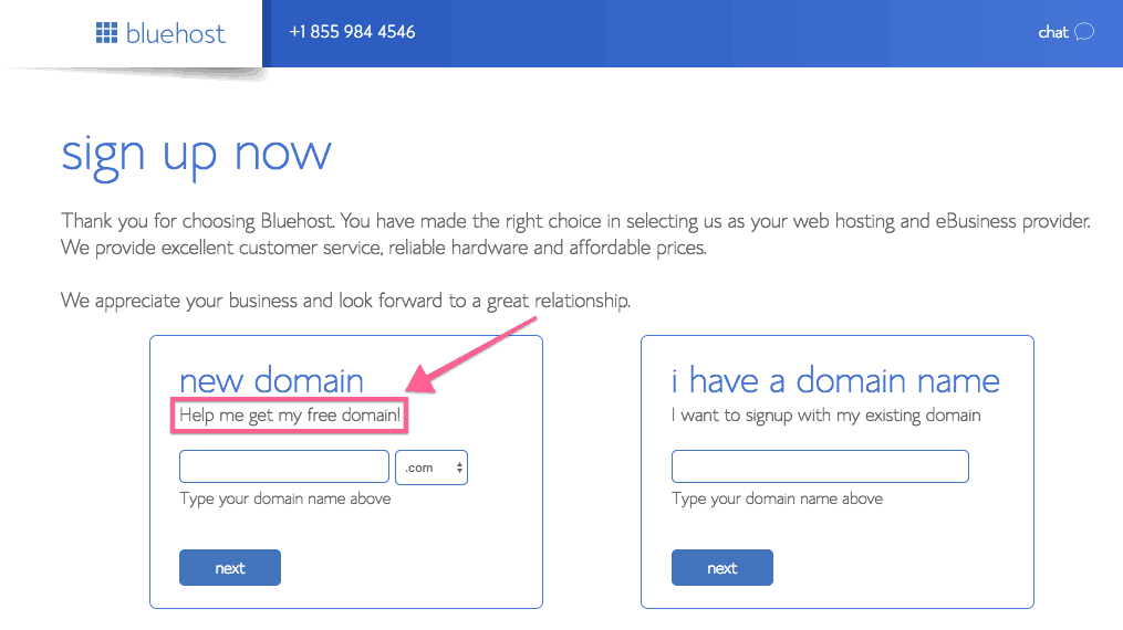 screenshots of Bluehost sign up steps for how to start a blog guide