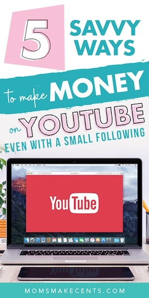 text overlay on image with the words how to make money on youtube