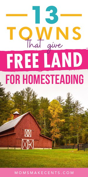 free land for homesteading