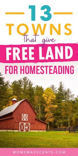 free land for homesteading