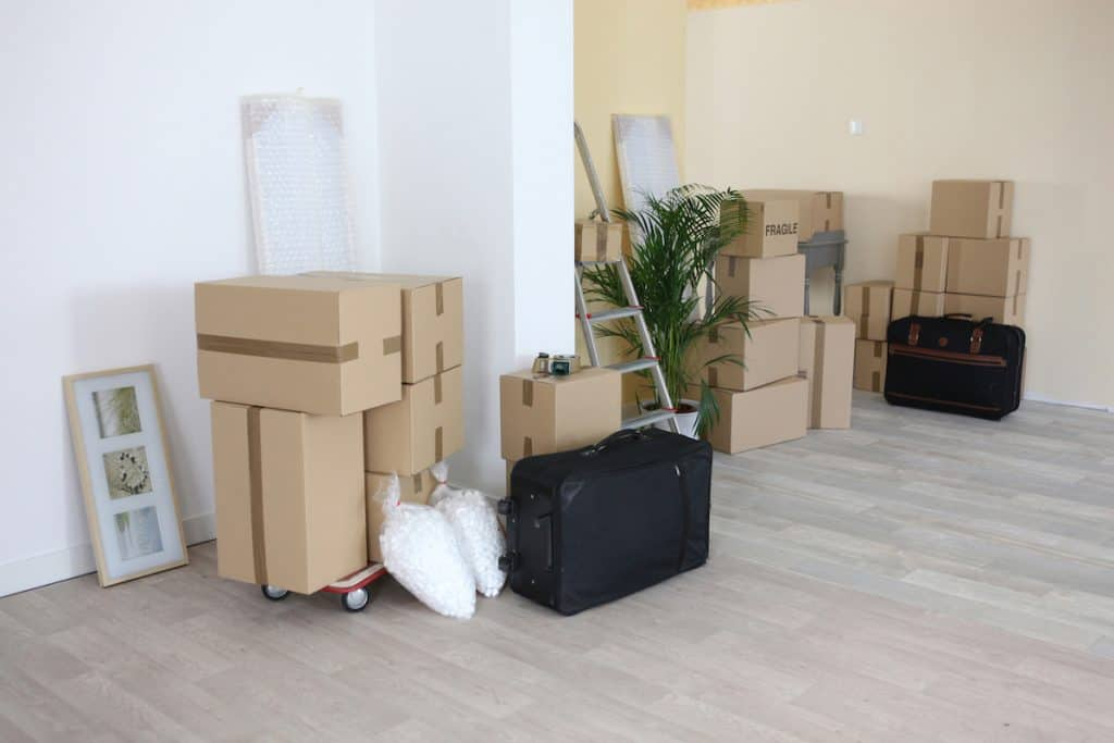 Room filled with boxes for featured image in neighbor storage review